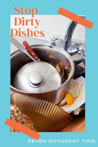 stop dirty dishes