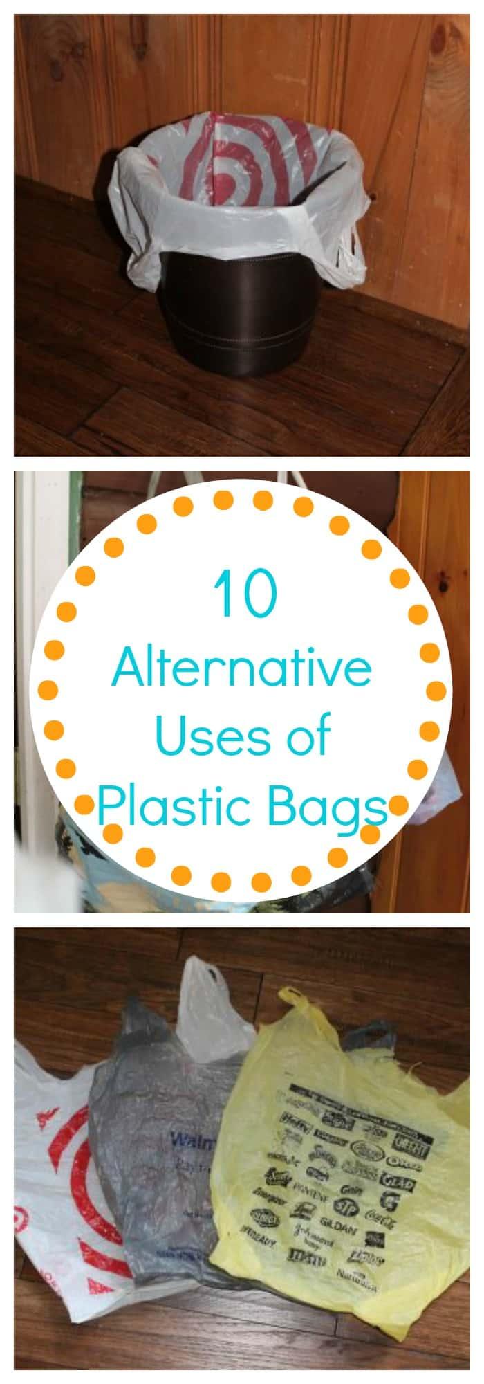 10 Alternative Uses of Plastic Bags