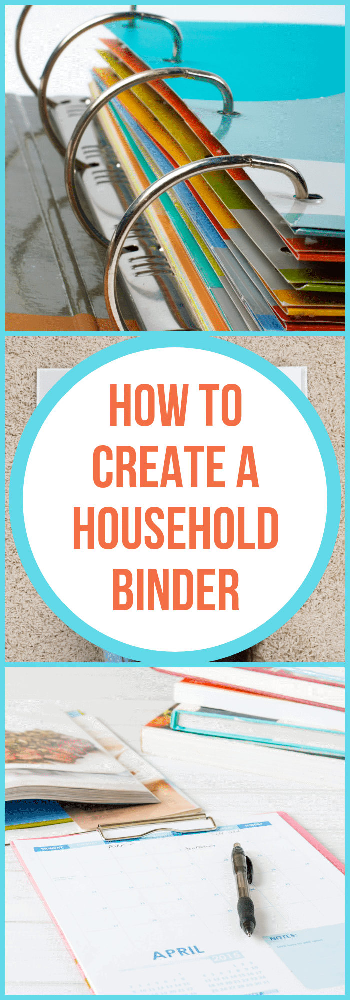 How to Create a Home Management Binder