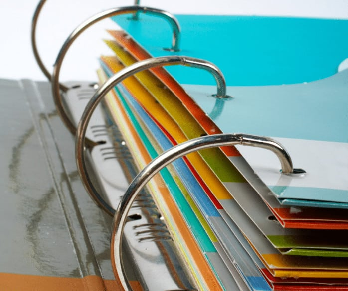 home managment binder