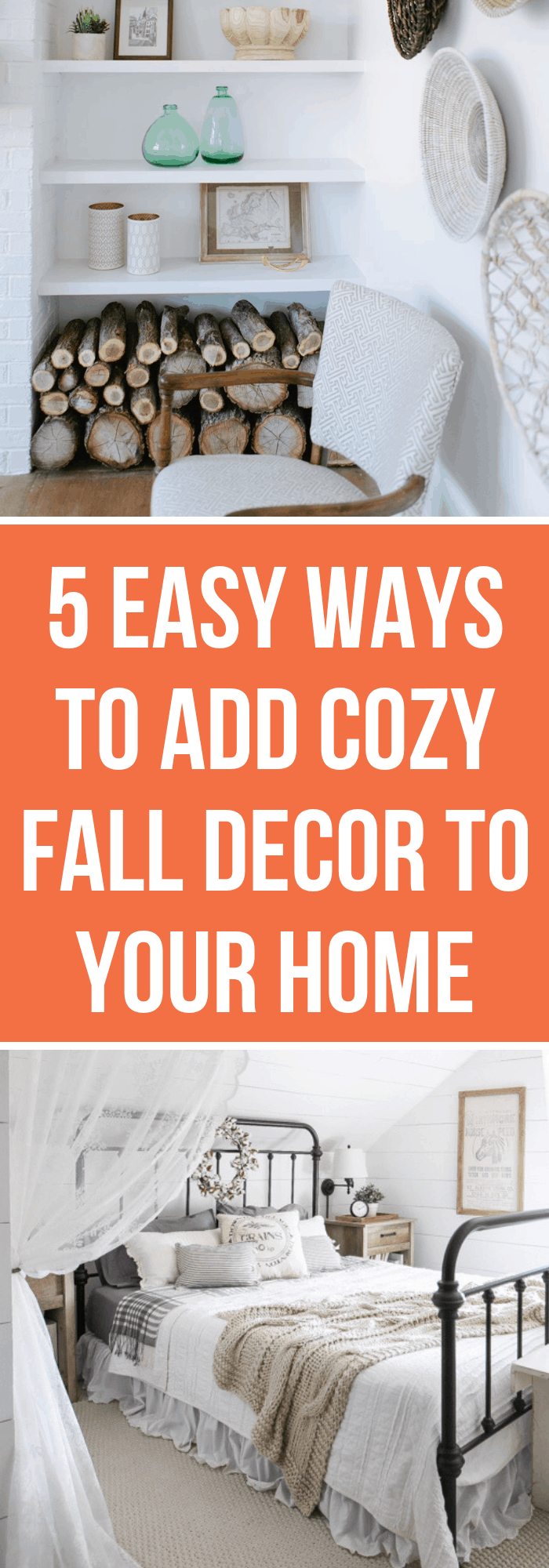 5 Easy Ways to Add Cozy Fall Home Decor