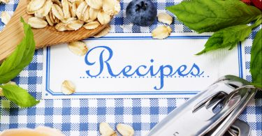 create a recipe binder