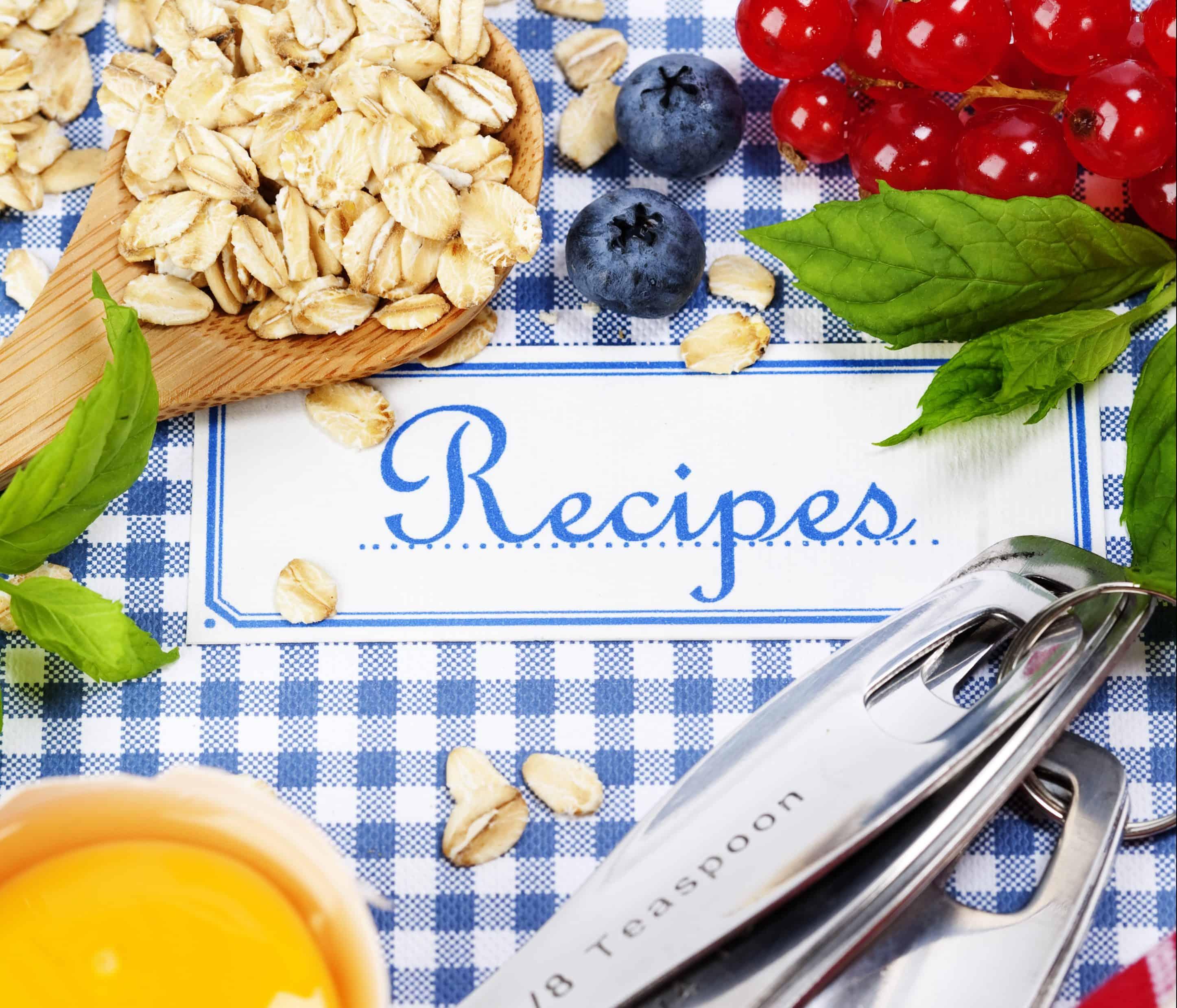create a recipe binder