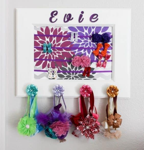 hair accessorie display board