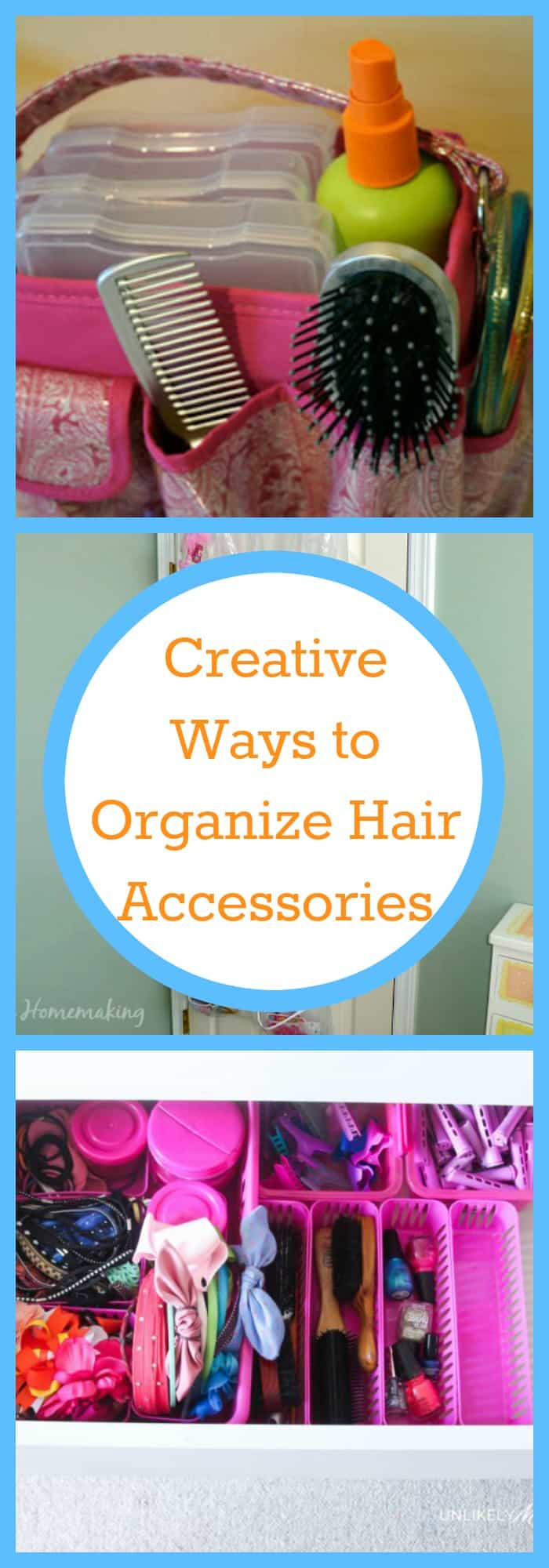 Creative Ways to Organize Hair Accesorries