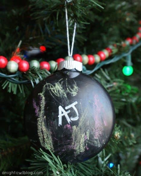 DIY kids ornament