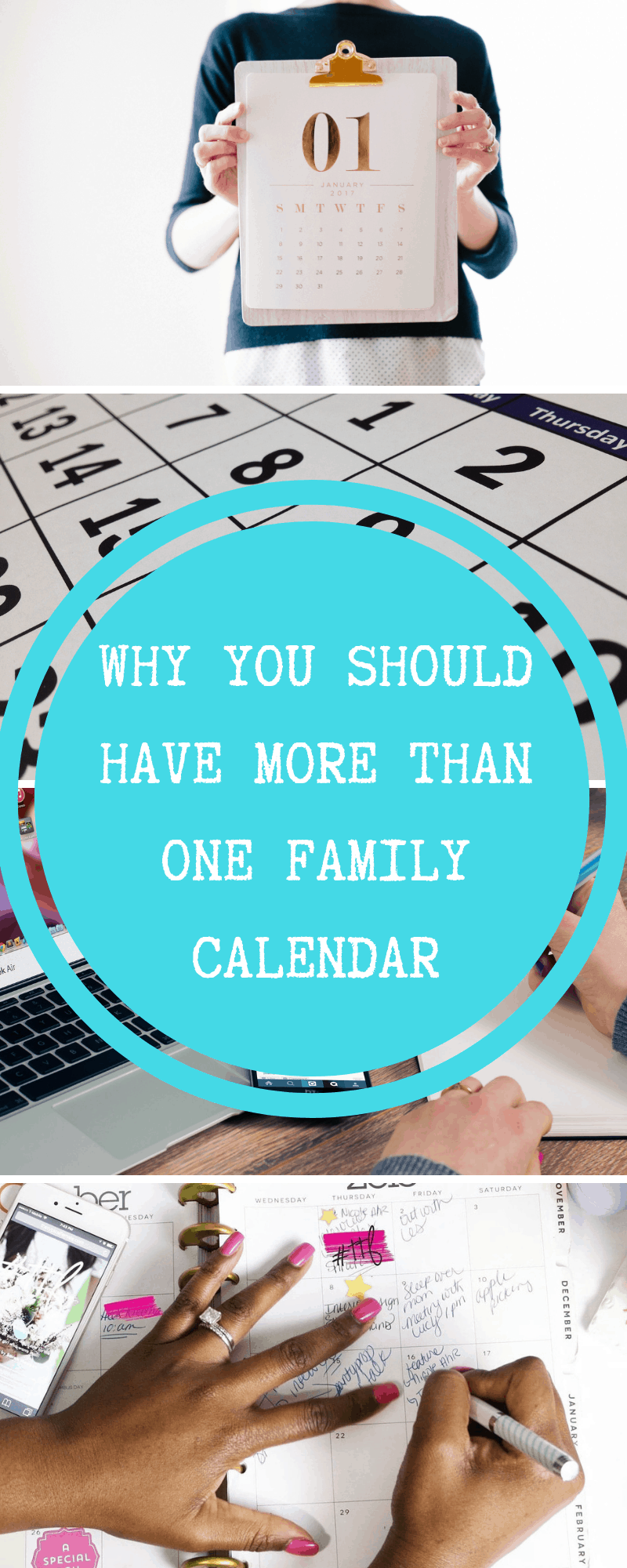 more than one family calendar