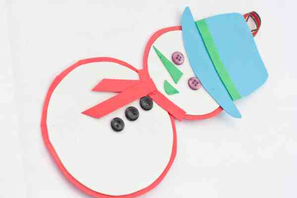 DIY Christmas ornament for kids