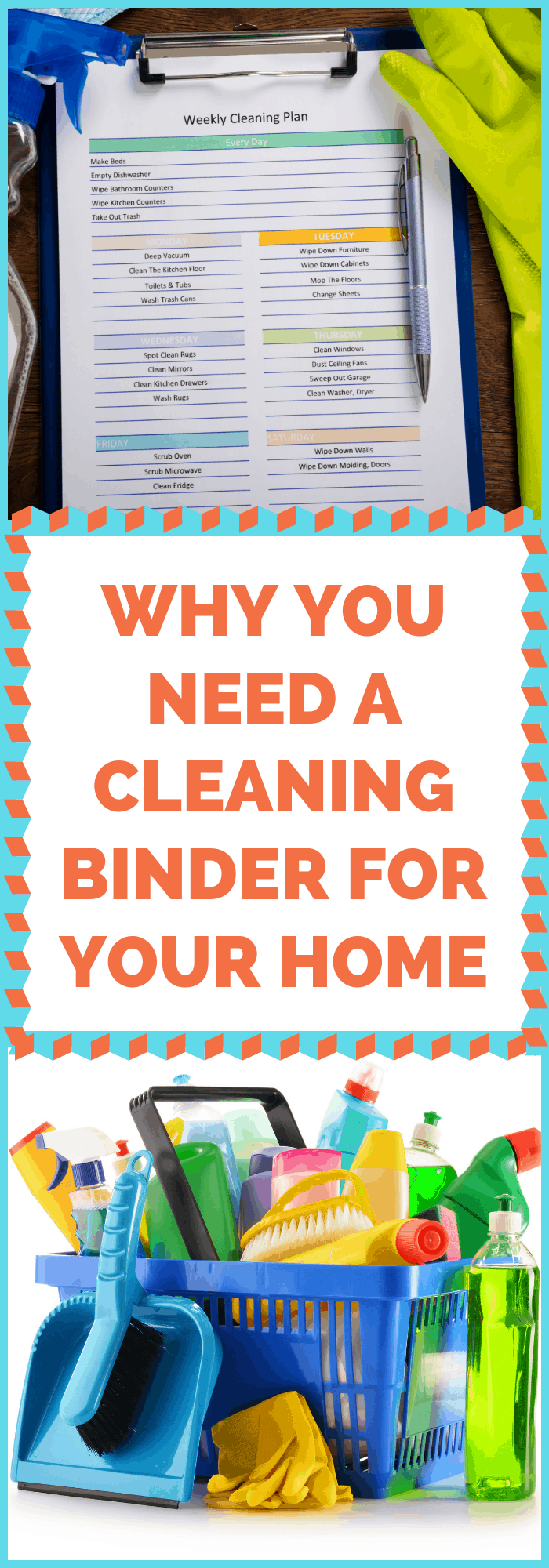 Why You Need a Cleaning Binder for Your Home