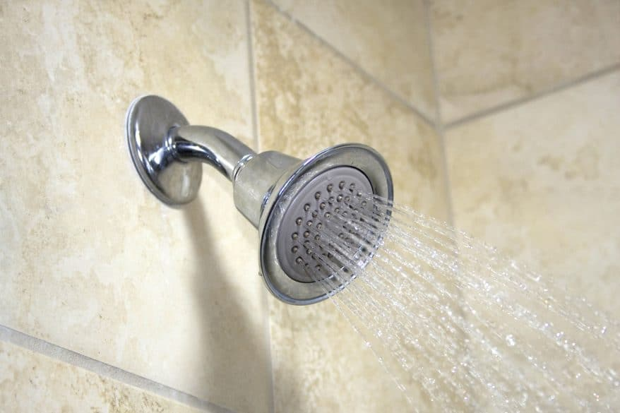 energy efficient home low flow showerhead