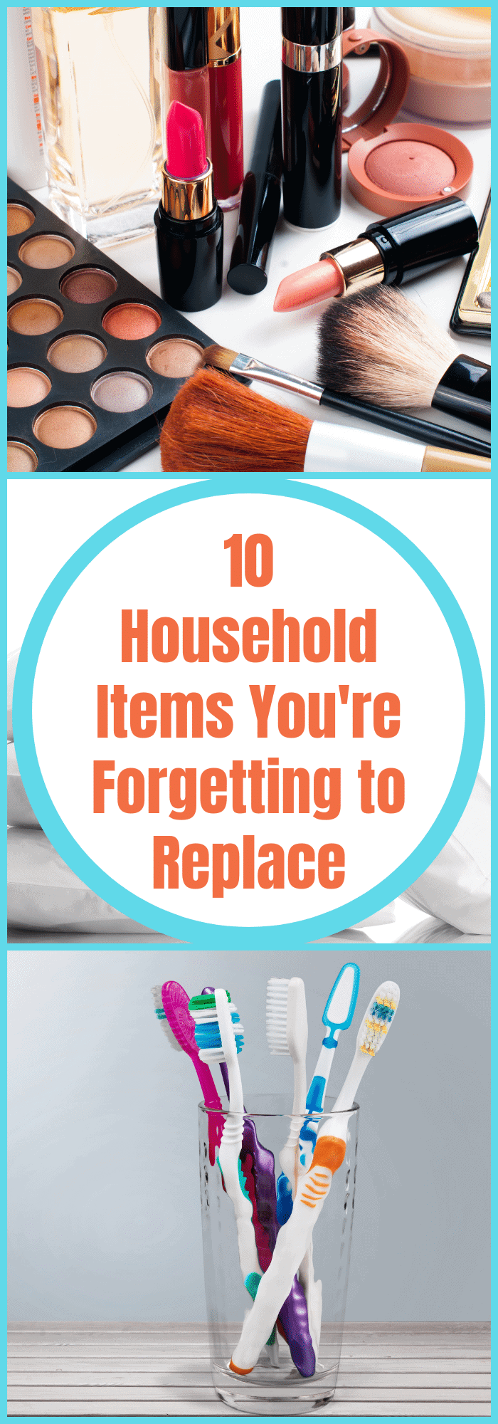 How often to replace household items