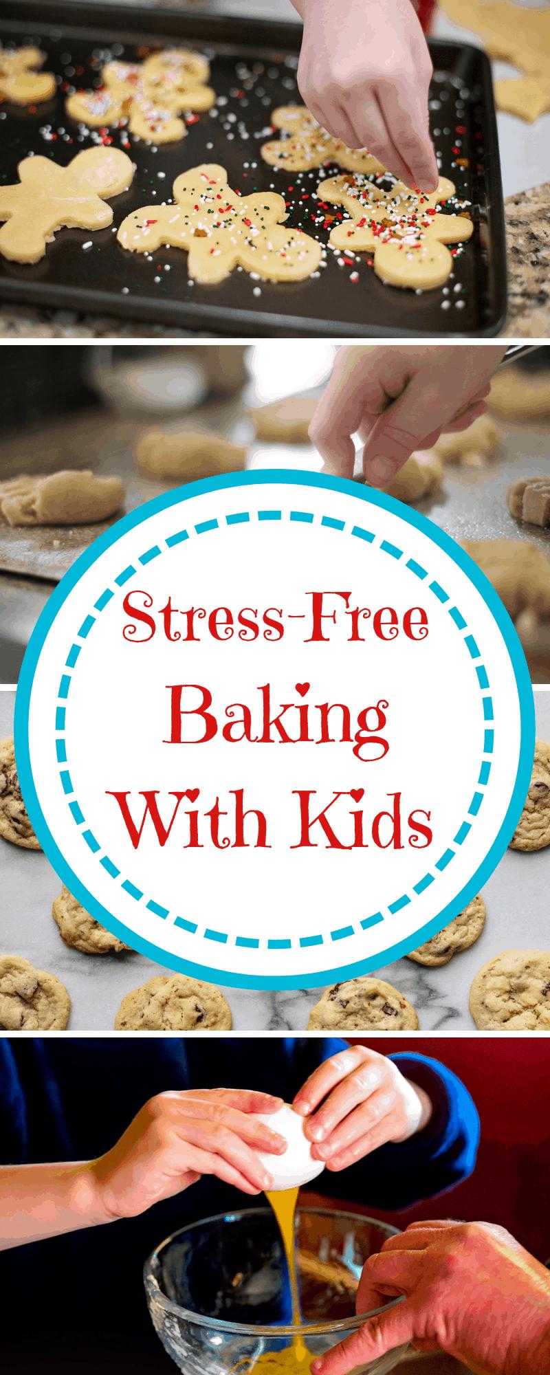 stress-free baking with kids
