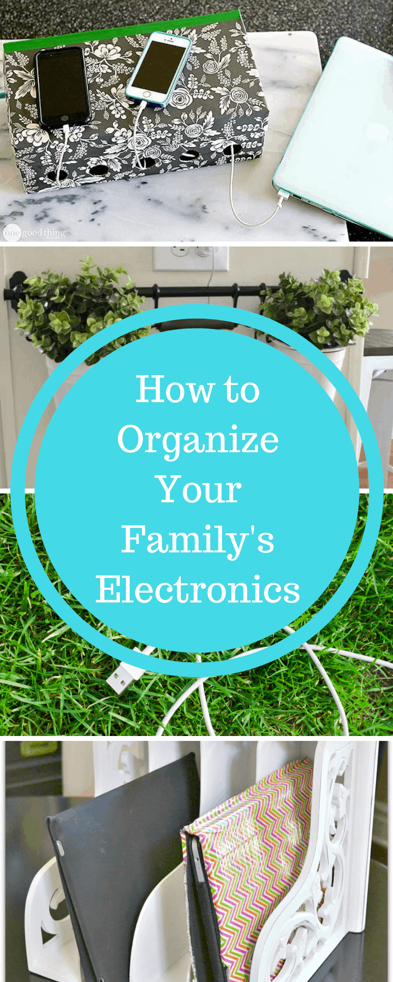 How to Organize Your Family's Electronics