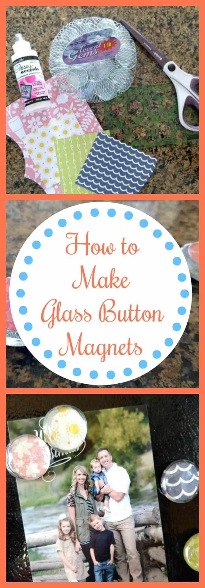 How to Make Glass Button Magnets