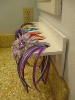 hair accessories organization
