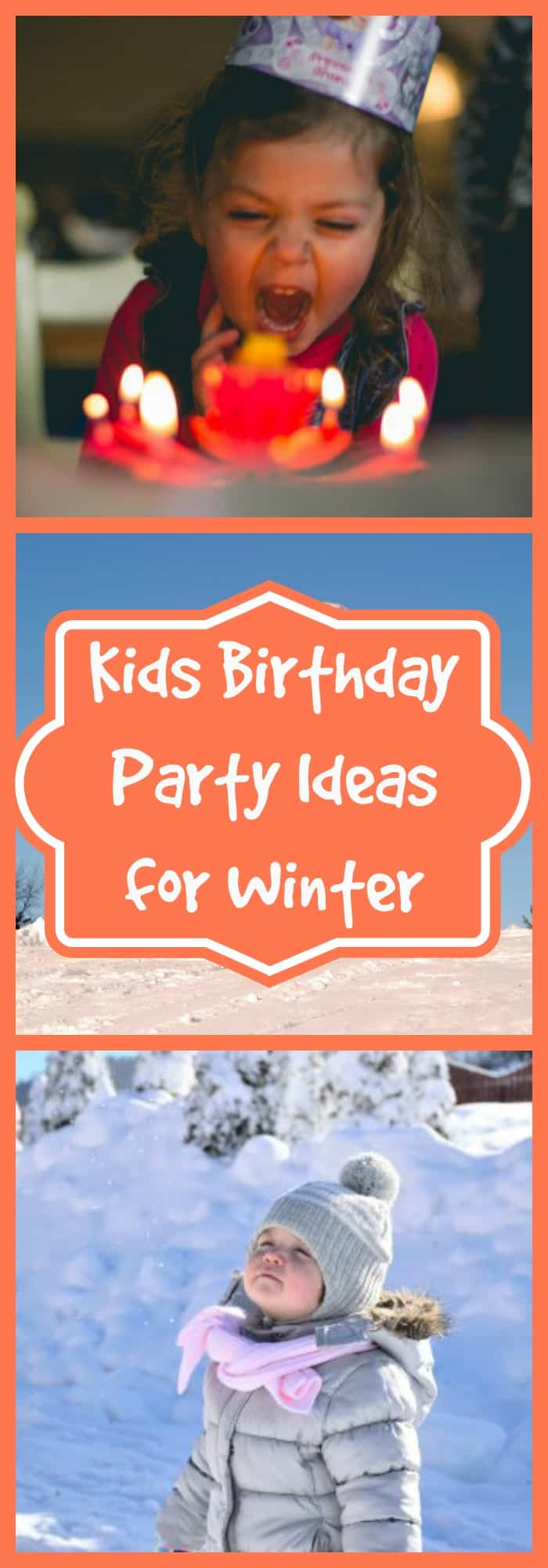 Kids Birthday Party Ideas for Winter