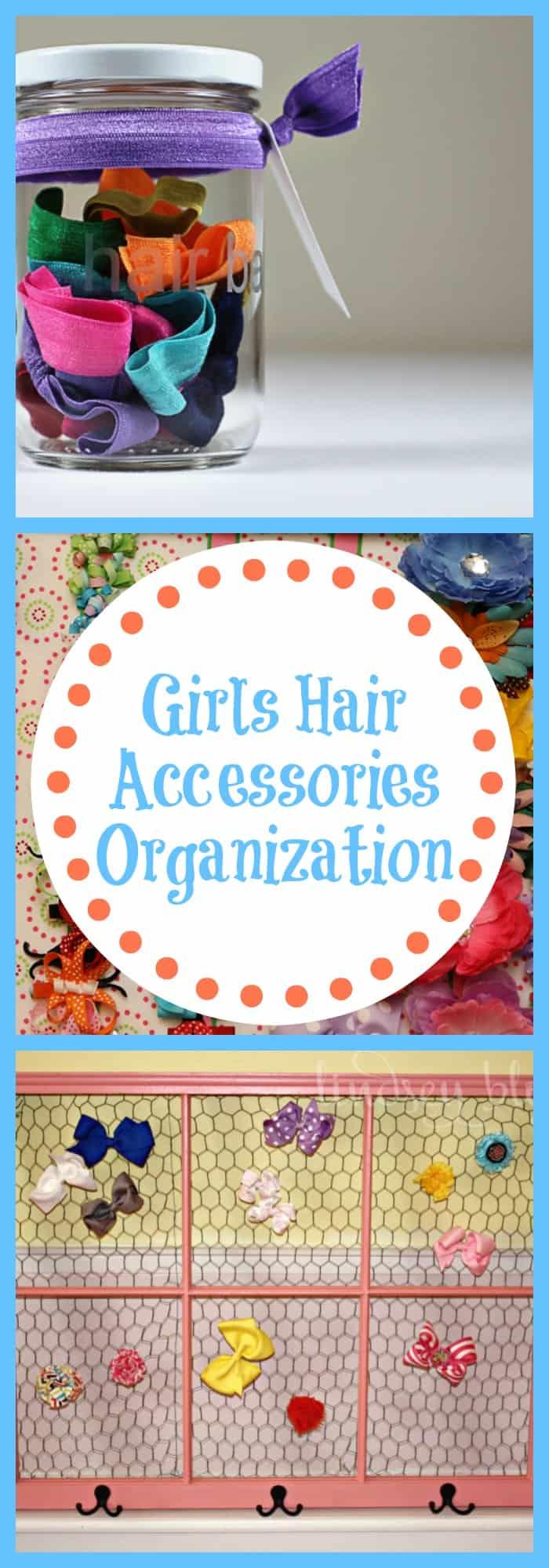 Girls Hair Accessories Organization