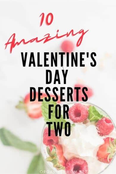 valentine's desserts for two