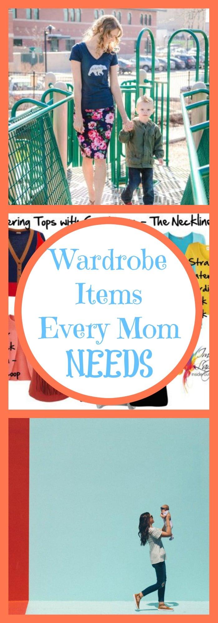 Wardrobe Items Every Mom Needs