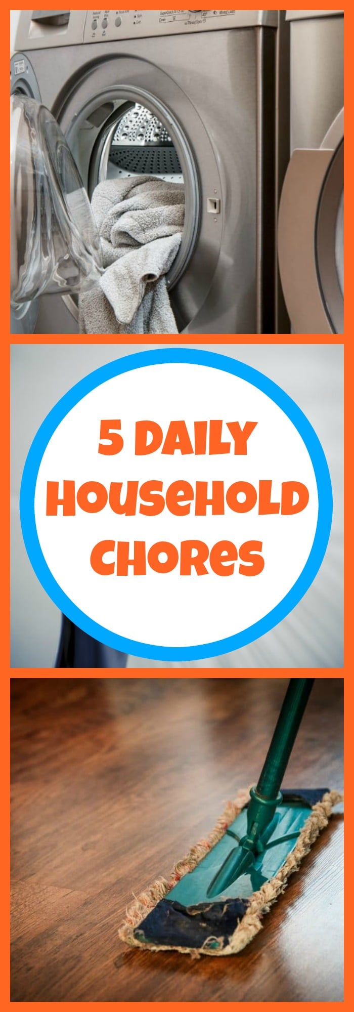 5 Daily Household Chores