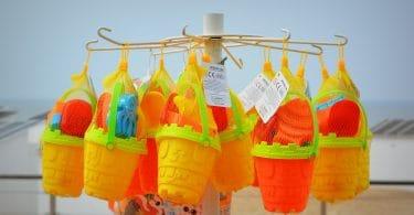 beach toys easter basket