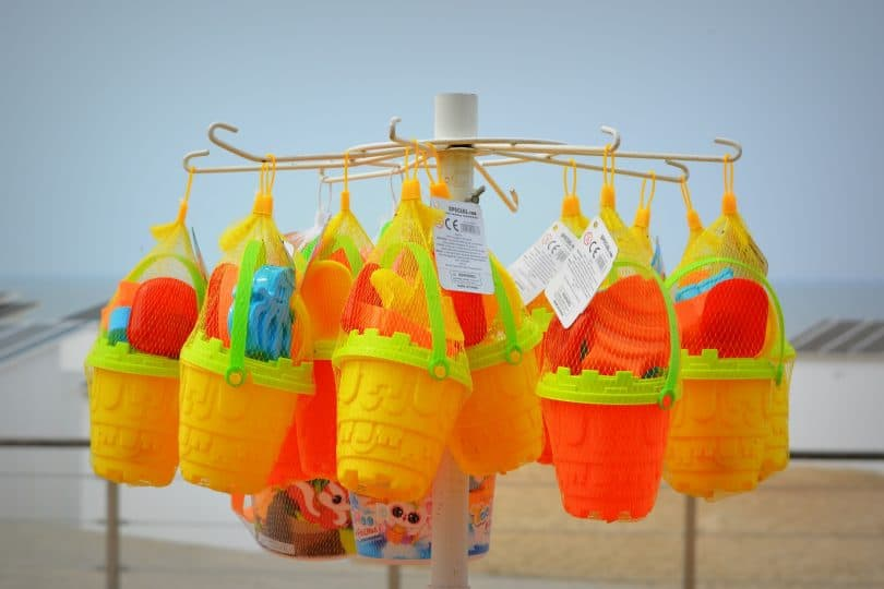 beach toys easter basket