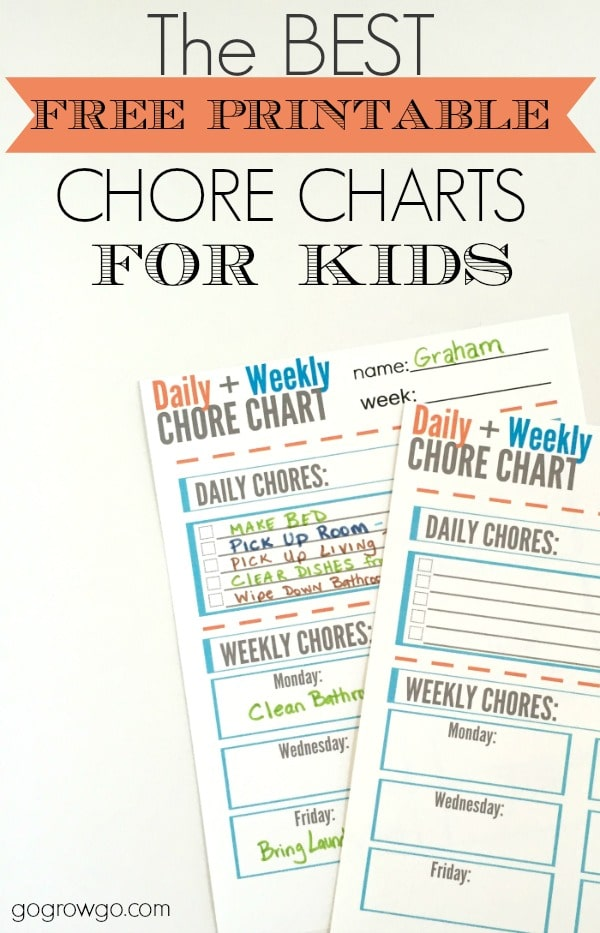 photograph about Summer Chore Chart Printable named Track down Your Summer season Chore Chart - The Prepared Mother