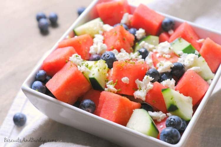fruit summer salad