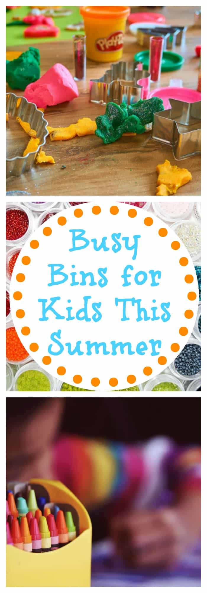 Busy Bins for Kids This Summer