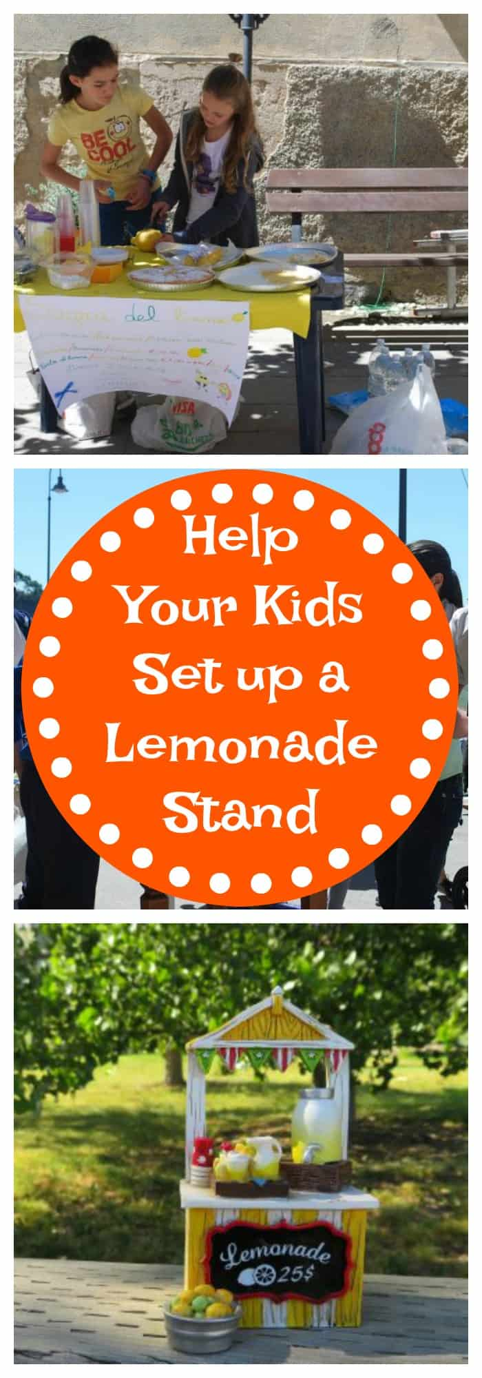 Help Your Kids Set Up a Lemonade Stand
