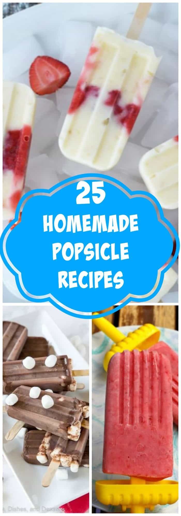 25 Homemade Popsicle Recipes