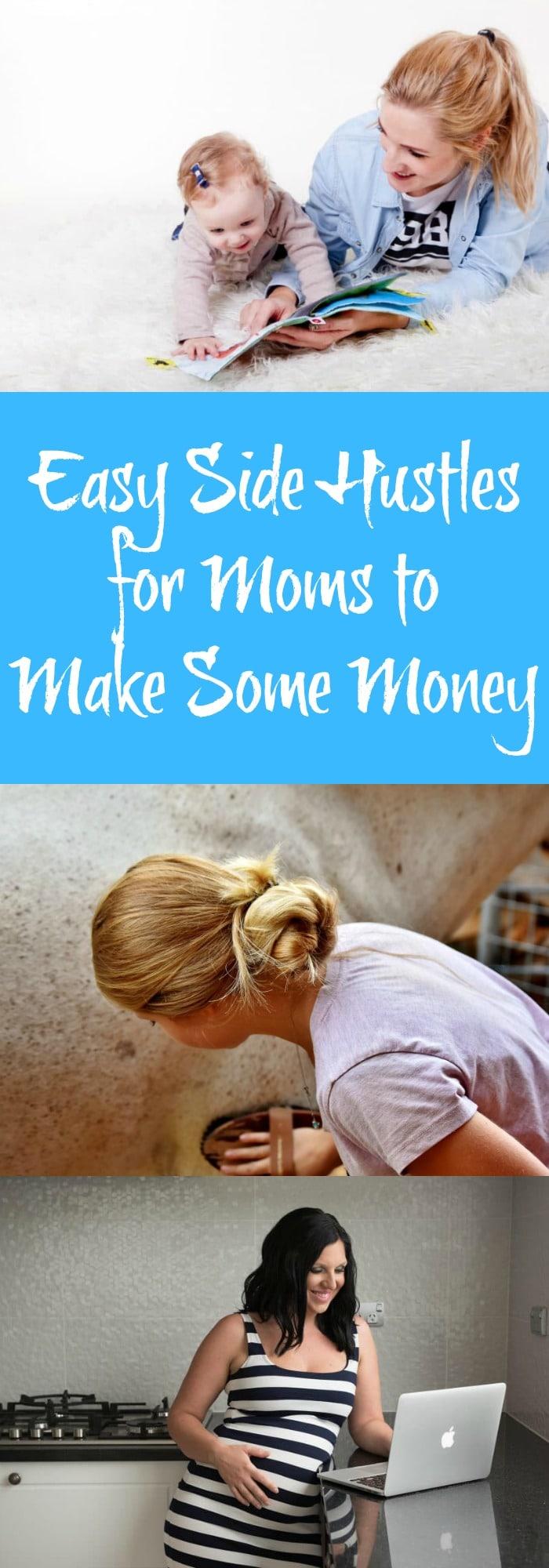 Easy Side Hustles for Moms to Make Some Money