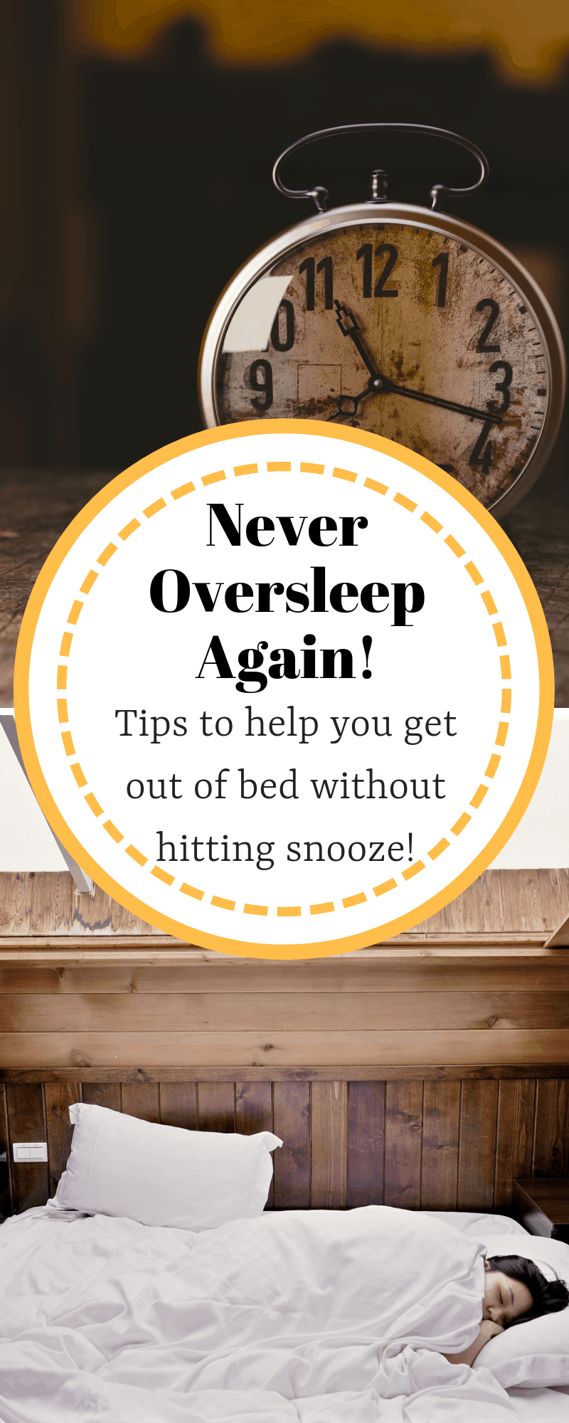 Tips to Getting Out of Bed Without Hitting Snooze