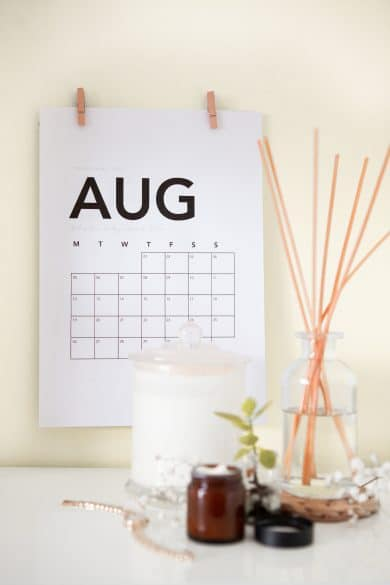 wall calendars for families