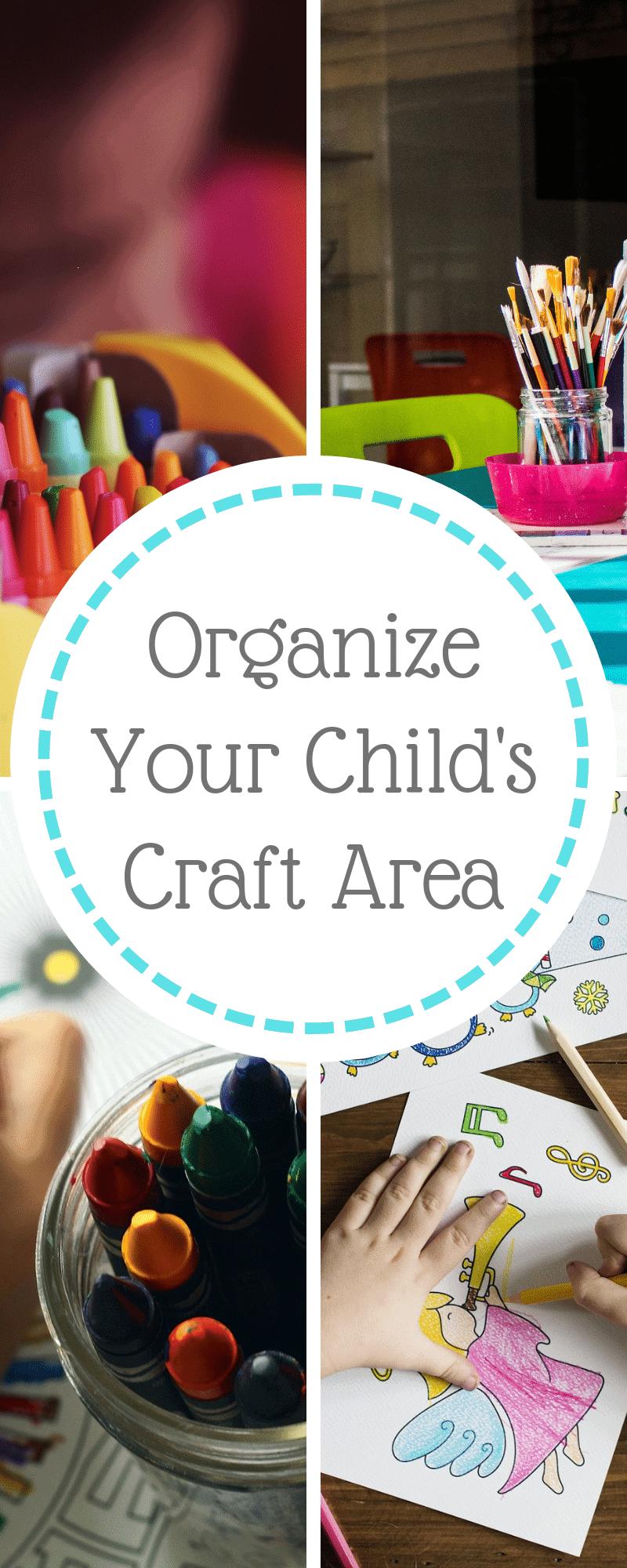 organize the craft area