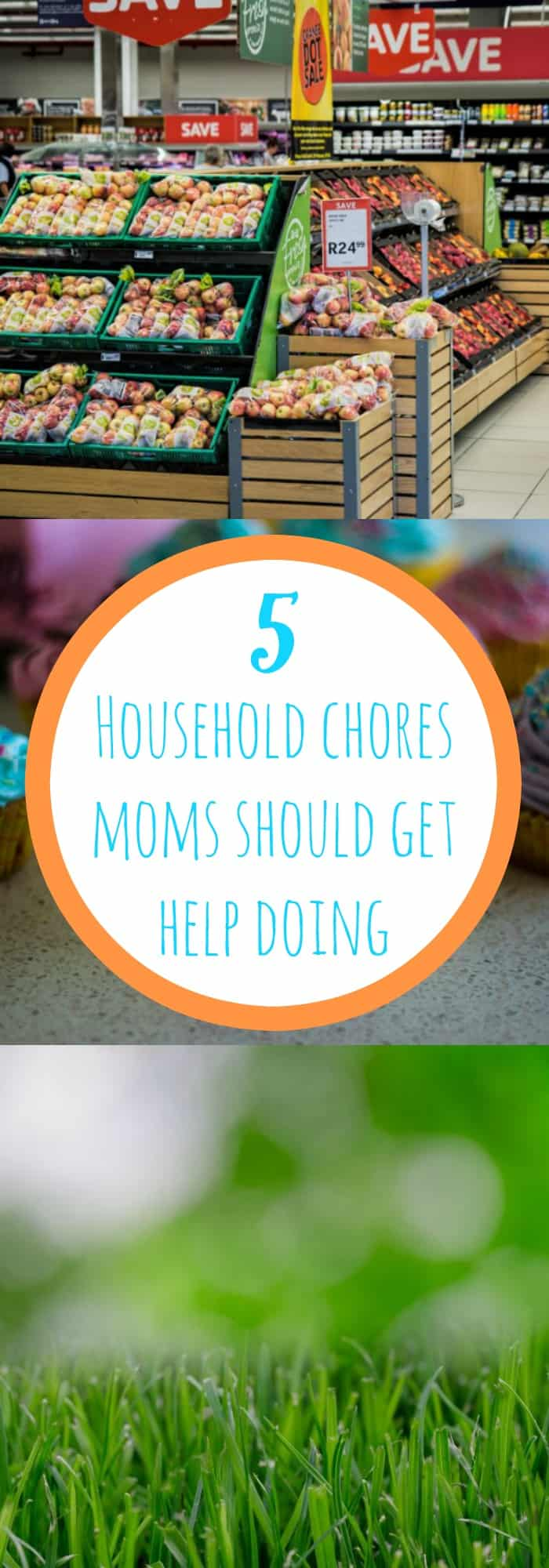 5 Household Chores Mom's Should Get Help Doing