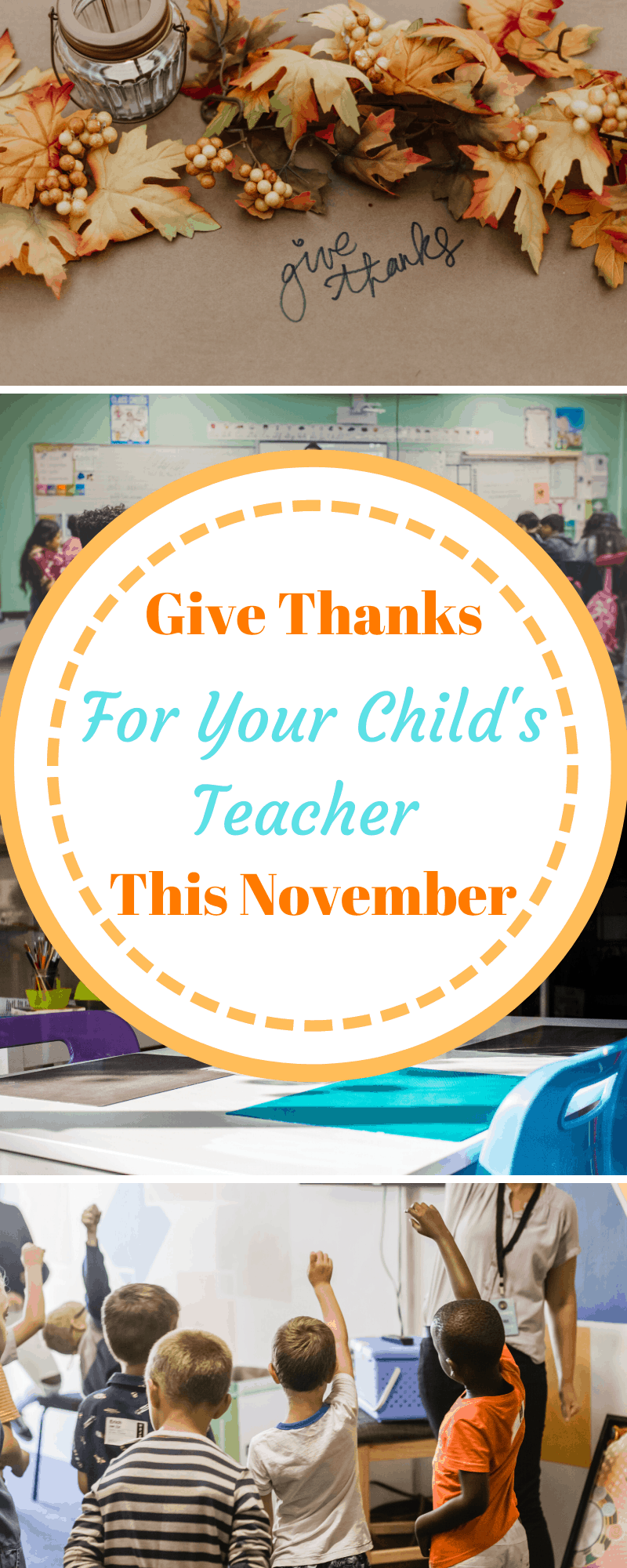 give thanks for your child's teacher