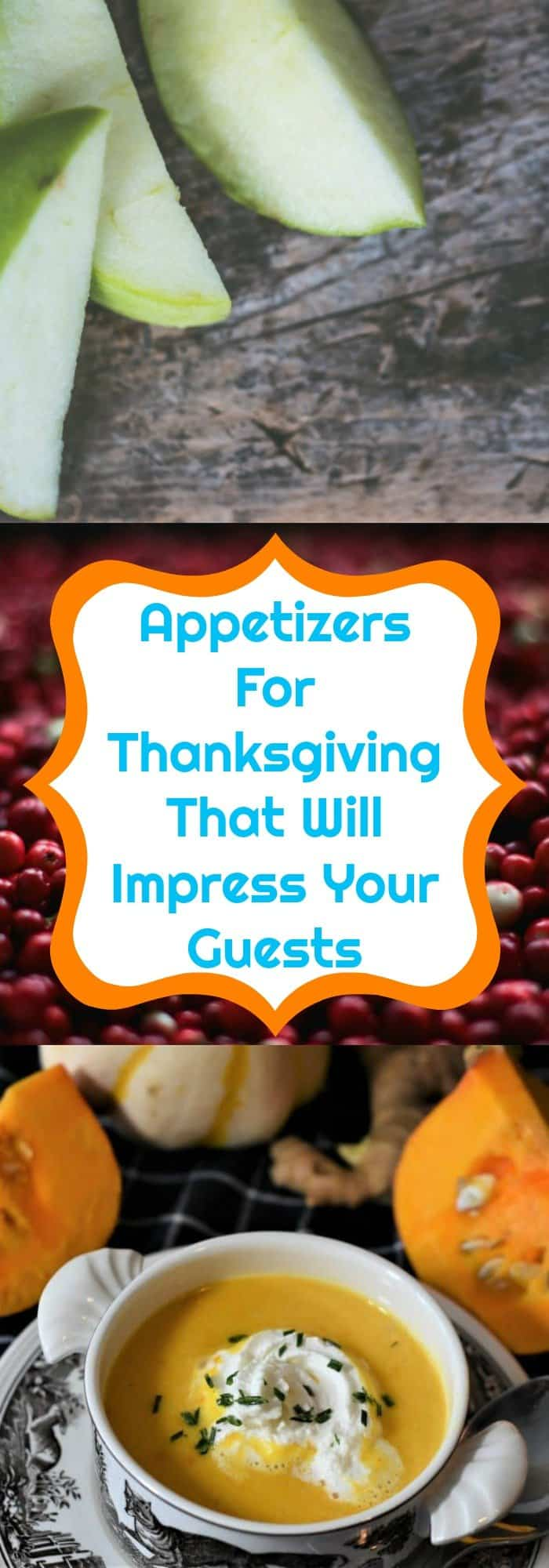 appetizers for Thanksgiving