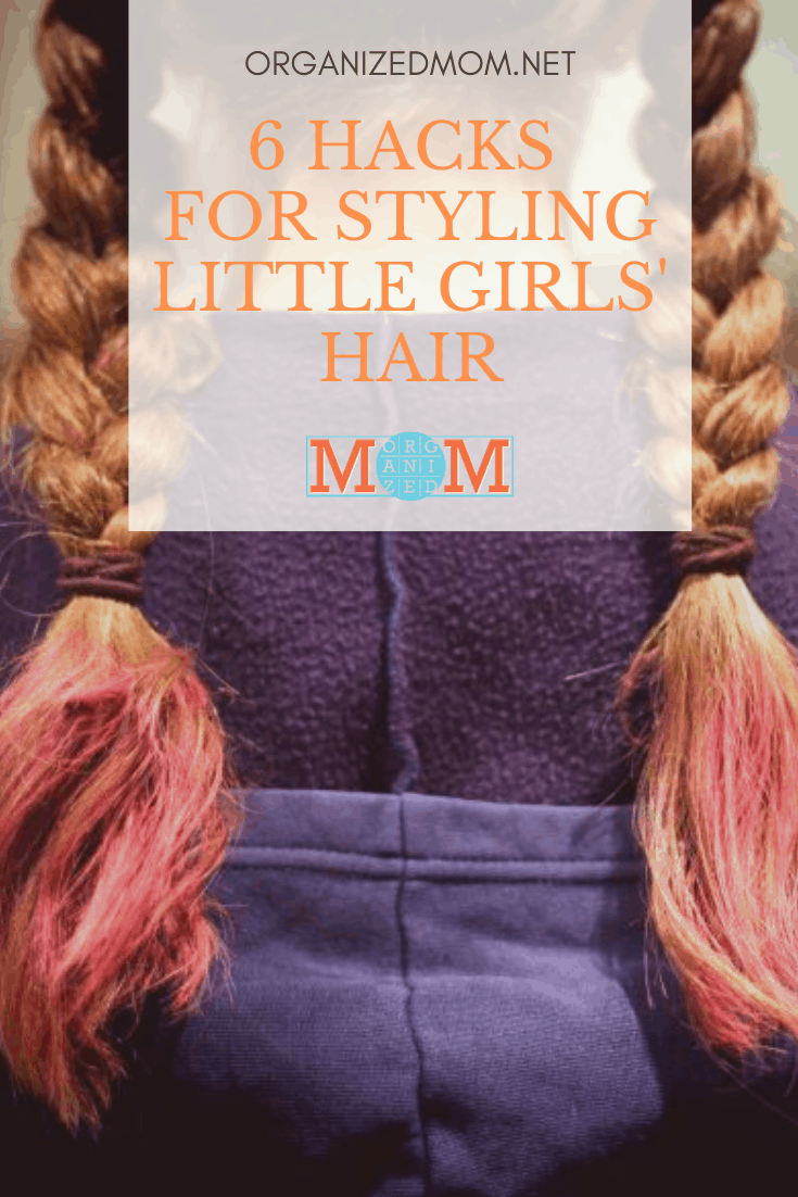 styling little girls' hair