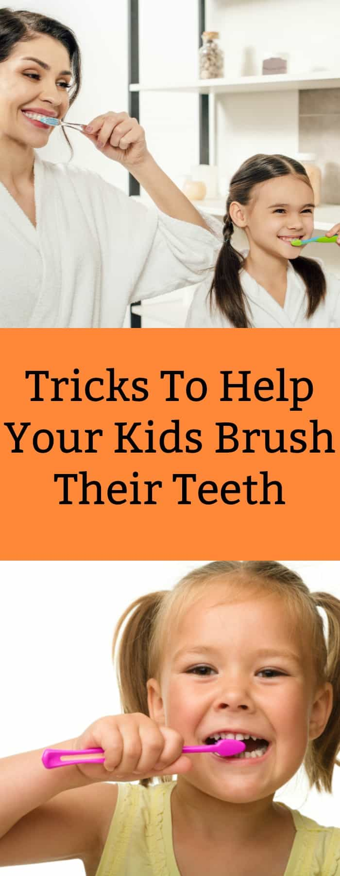 Tricks to Help Your Kids Brush Their Teeth