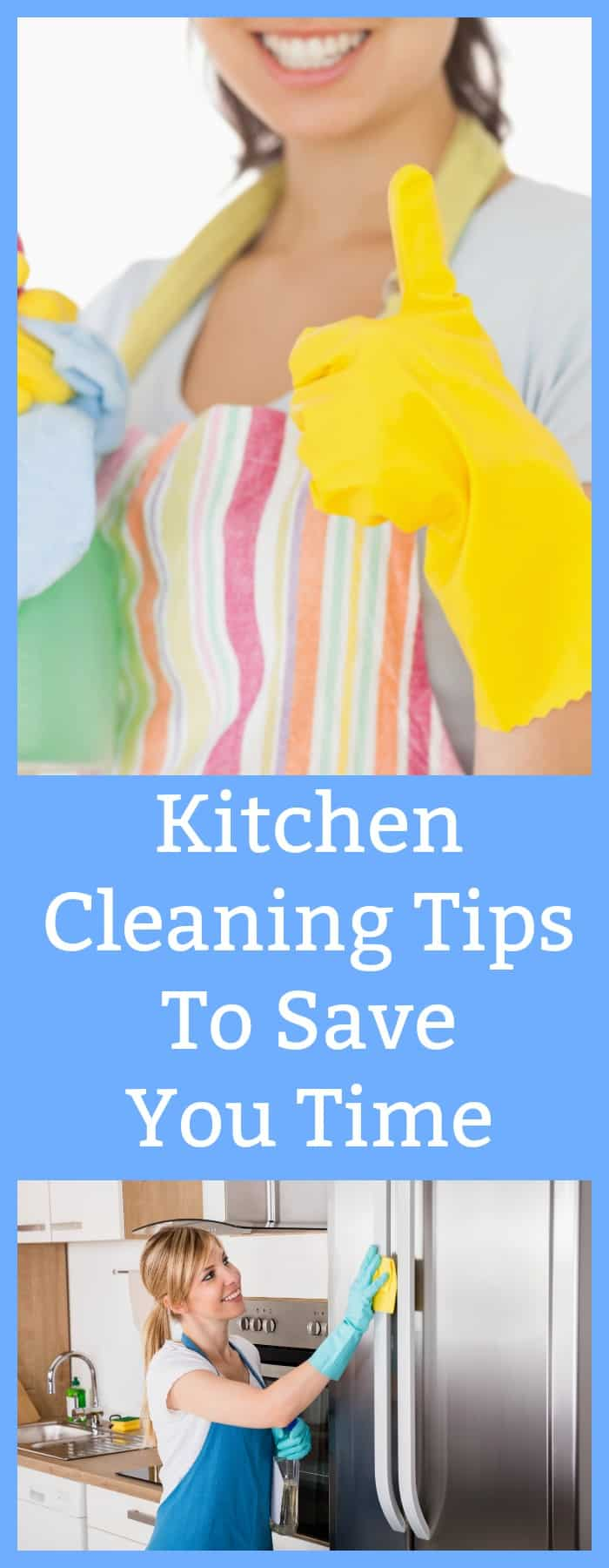 Kitchen Cleaning Tips to Save You Time