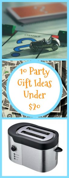 10 Party Gift Ideas Under $20