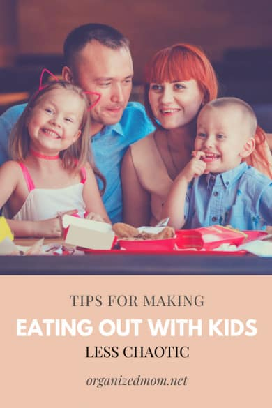 Tips for Making Eating Out With Kids Less Chaotic
