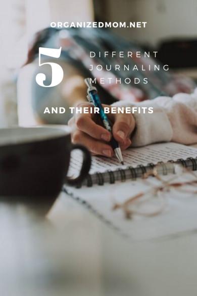 5 Different Journaling Methods