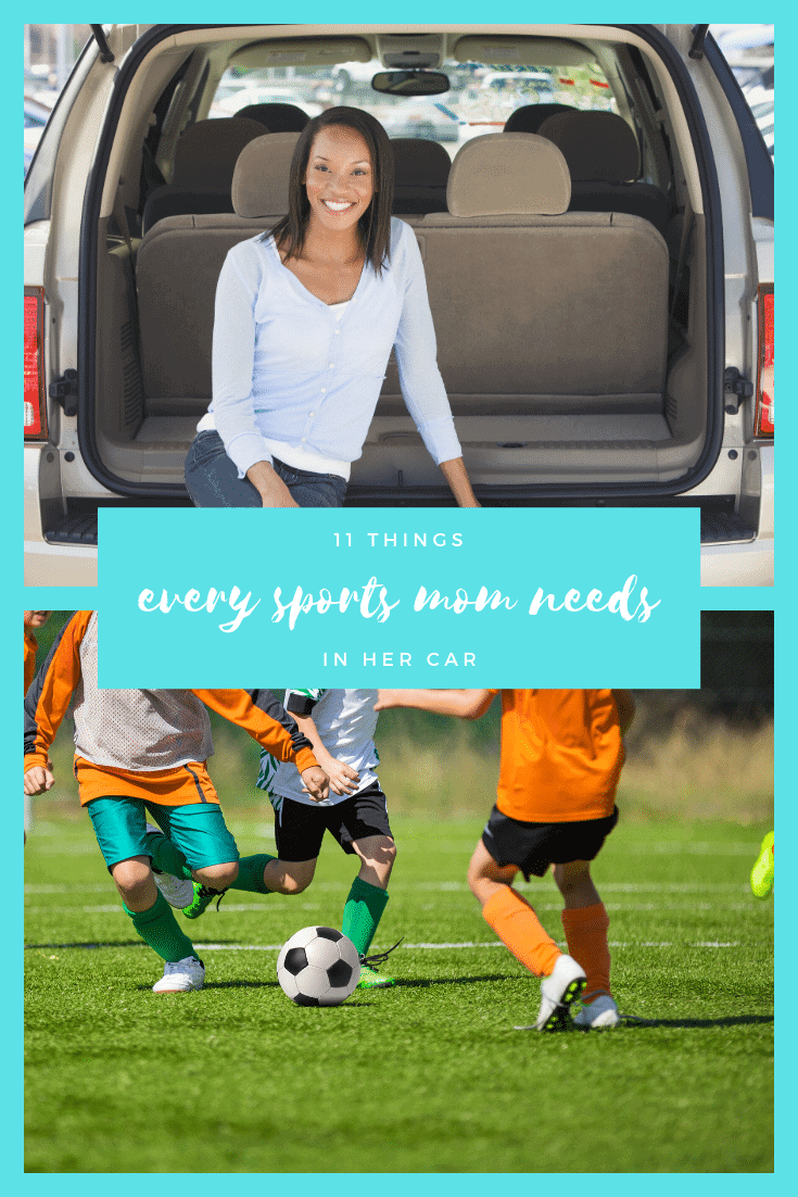 11 things Every Sports Mom Needs in her Car