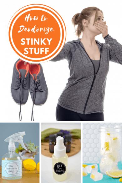 How to Deodorize Stinky Stuff