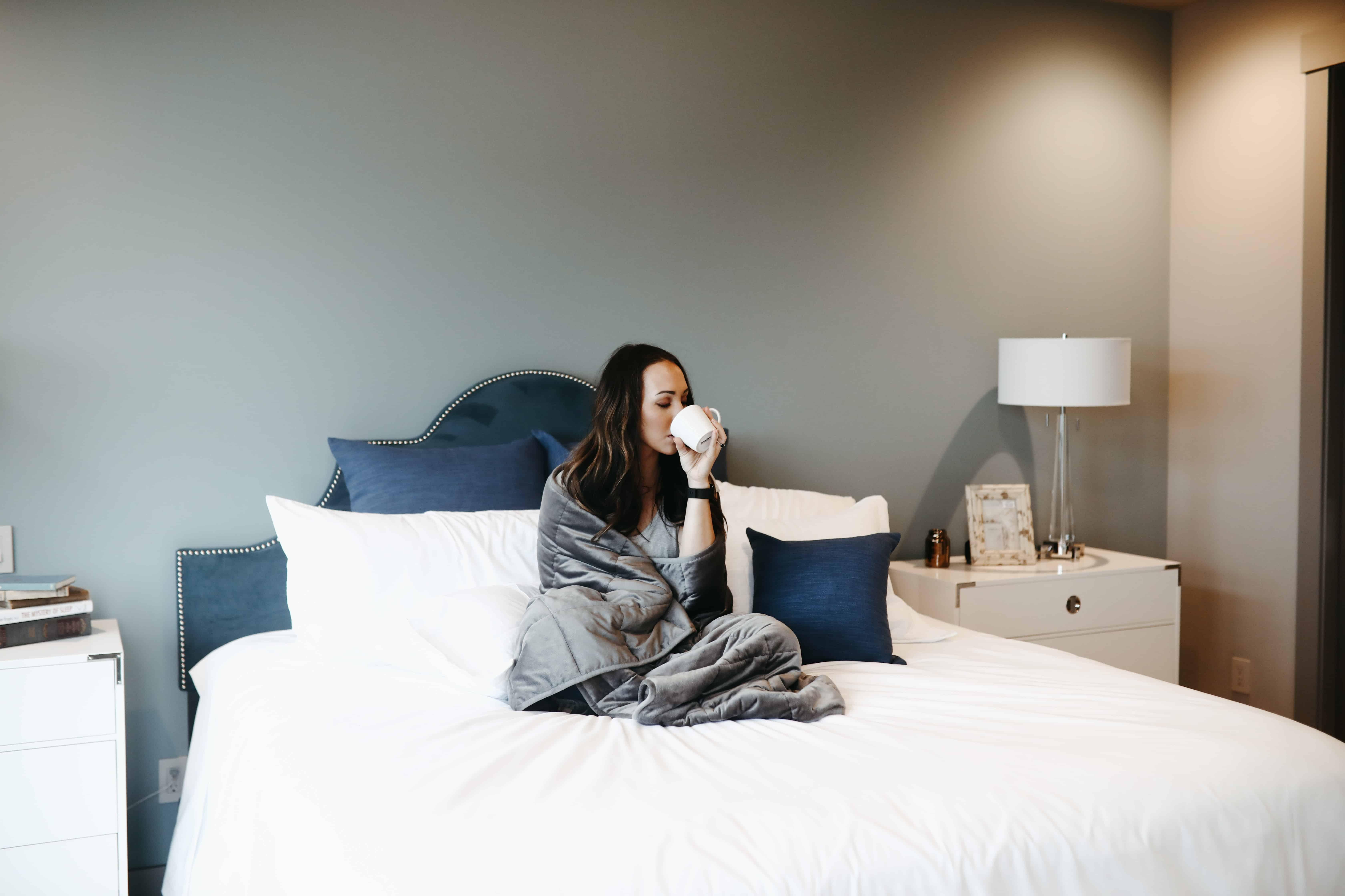 a relaxing bedroom