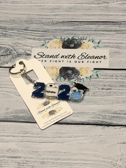2020 graduation key chain