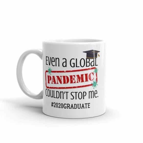 pandemic graduation mug