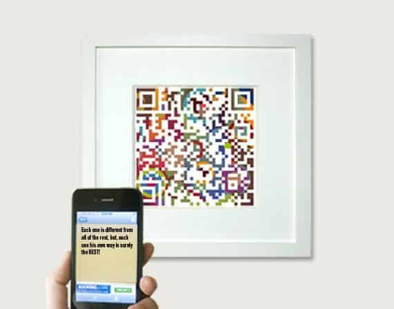QR Code picture/quote